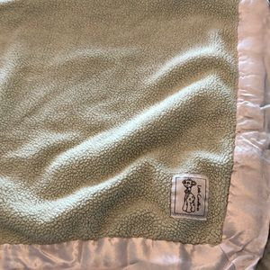 Little Giraffe baby blanket
